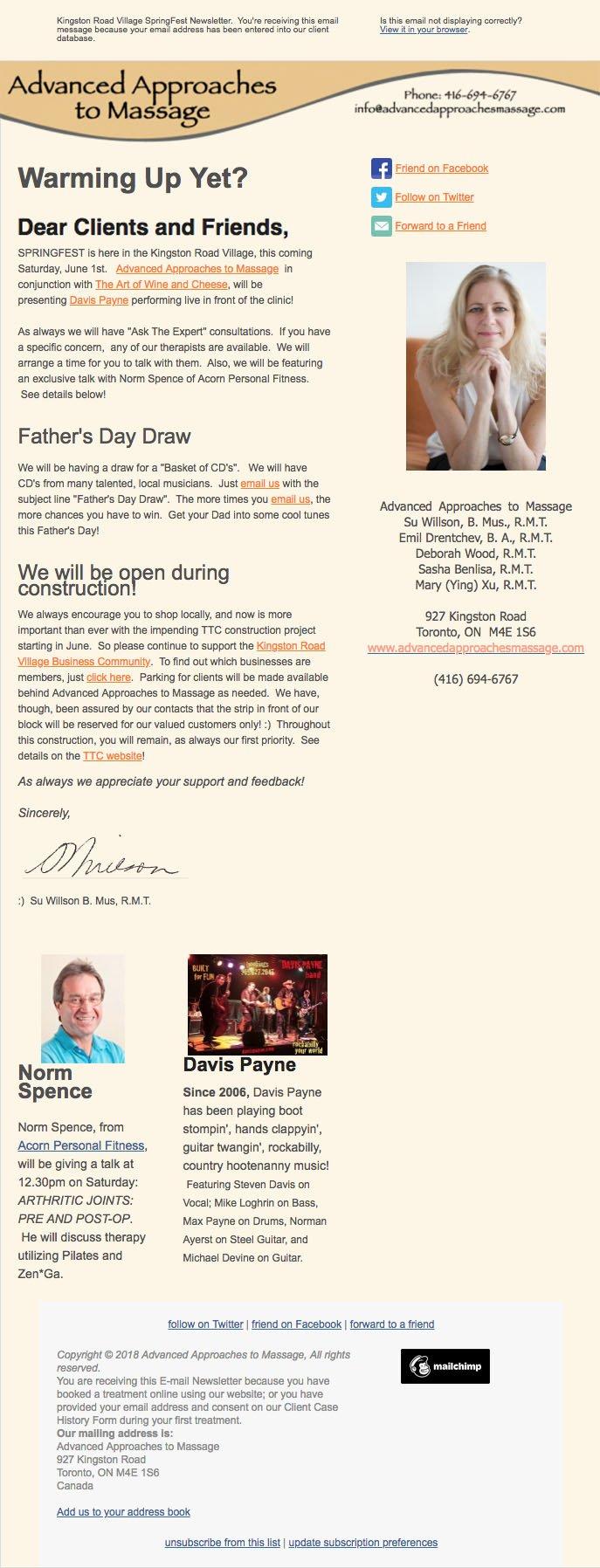 Newsletter: Summer (2013)