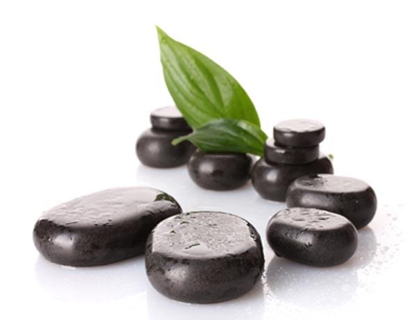 Hot stones for massage