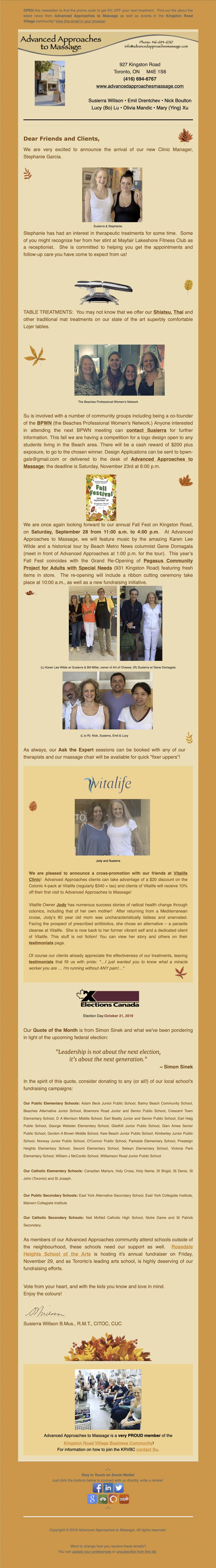Newsletter 2019-09-24